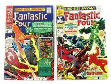 Original Silver Age King Size Special Fantastic Four #4 ,#5 1966,1967 SET