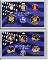2003 S United States Mint  10 Coin  Proof Set