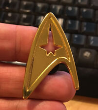 Star Trek cosplay communicator badge pin retro costume Starfleet lapel bag hat