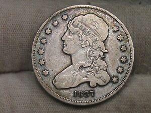 1837 Bust Quarter.  #90