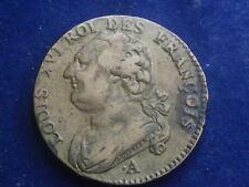 12 Deniers 1791 A France Coin françois Paris  W/18/577