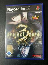 PROJECT ZERO 3 : THE TORMENTED - PS2 / PLAYSTATION 2 - JEU COMPLET OVP CIB VGC