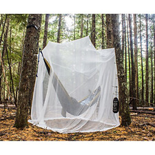 Ultra Large Mosquito Net and Insect Repellent by Mekkapro | Large Two Openings N
