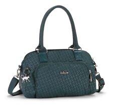 Kipling Alecto Small Handbag in Emerald Emb BNWT