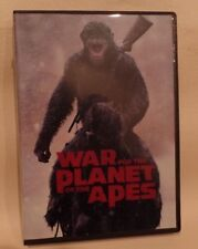 WAR FOR THE PLANET OF THE APES, DVD, CASE AND COVER ARTWORK, good, g