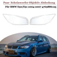 2x Scheinwerferglas Streuscheibe für BMW E90/E91 2004-2007 4769886123