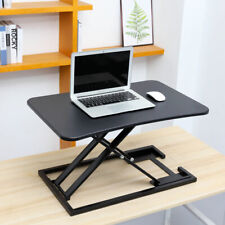 Ergonomic Standing Desk with Height Adjustable Large Stand Up Desk Converter