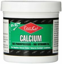 Rep-Cal Srp00220 Phosphorous-Free Calcium Powder Reptile/Amphibian Supplement.