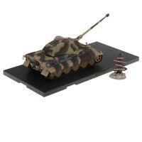 1:72 WWII German Tiger II-Kursk 1943 Tank Army Model Toy