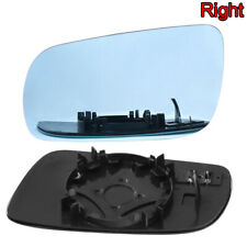 1PCS Right Door Mirror Heated Glass Blue for Volkswagen VW Jetta Golf MK4 99-04