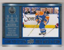 2016-17 Upper Deck Tim Horton's Game Day Action Insert #GDA-7 Connor McDavid