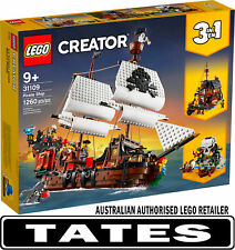 LEGO? 31109 Pirate Ship Creator 3-in-1 from Tates Toyworld