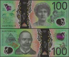 Australia 100 Dollars PNew B234 2020 Polymer Banknote Owl/Nellie Melba AU UNC