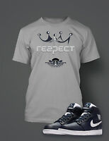 Respect Graphic Tee shirt To match AIR JORDAN 1 RETRO HIGH JETER Shoe Streetwear