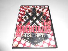 Los Machetazos De Machete Music (DVD, 2007) Promotional Different Tracks