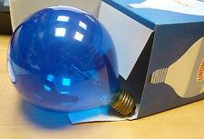 LINDNER GLOBE E27 25W G120 bleu transparent Lampe GLOBE Ampoule ø 120mm
