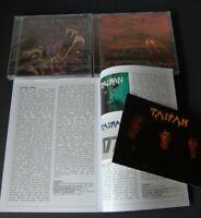 TAIPAN Snakes/Metal machine CDs + RARE RECORDS 11 + Karte/Promoblatt PACKAGE OVP