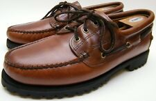 MEN Sebago Gibraltar MOC TOE BOAT LACE UP OXFORD Casual Shoes BrN B70243 SZ 12 M