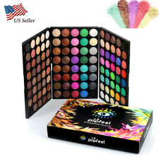 New Pro EyeShadow 120 Colors Makeup Cosmetics Palette Shimmer Matte Eye Shadow