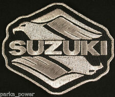 Suzuki Motorcycle Embroidered Iron on Patch, Intruder, Motorbike badge