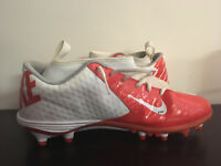 Virginia UVA Cavaliers Micah Kiser Game Worn Nike Cleats Los Angeles Rams