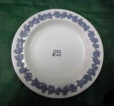 "Wedgwood 'Queensware' 6 1/8"" B&B Plate, Plain Edge, Lavender on Cream 1930-1983"