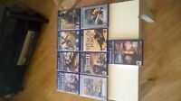 Sony PlayStation 2 ,9 games bundle ,All with manuals.VGC