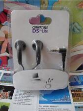 Nintendo DS:Ecouteur Casque Stéréo / Stereo Headphones [NEUF / NEW]