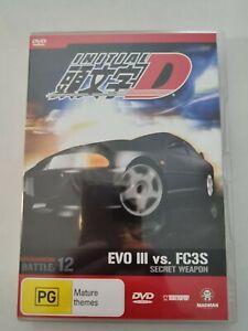 Initial D - Battle Volume 12 SECRET WEAPON Region 4 DVD Anime