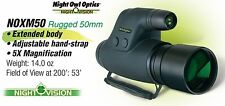 Night Owl Optics 5X - 5 Power NOXM50 Night Vision Monocular Made in Russia