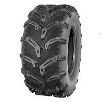 Pair 2 Deestone Swamp Witch 25x12-9 ATV Tire Set 25x12x9 D932 25-12-9