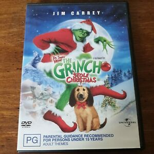 How the Grinch Stole Christmas DVD R4 Like New! FREE POST