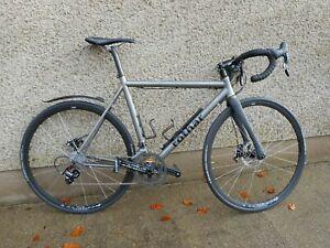 J&L Titanium Disc Brake Road bike frame-Ti/50~60-1480g