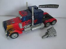 "Transformers - Optimus Prime  Leader 10"" Figure -  2007 Movie"