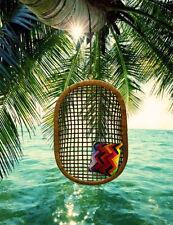 BIG Size Hanging Cane Handmade Wicker Chair Swing