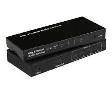 Bytecc OP-SW401 4 to 1 Optical Audio Switcher