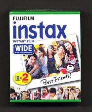 Pellicola Fuji  Fujifilm instax film wide color - pacco doppio 2x10