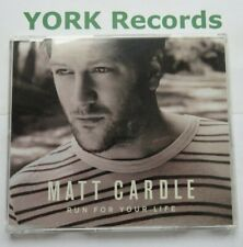 MATT CARDLE - Run For Your Life - Excellent Condition CD Single SYCO