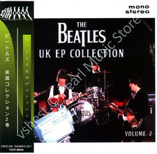 BEATLES UK EP COLLECTION VOL. 2 CD MINI LP OBI Harrison Lennon McCartney Starr