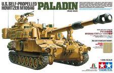 Tamiya 1/35 EE. UU. autopropulsado Howitzer M109A6 Paladin (Iraq War) # 37026