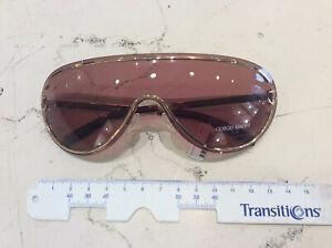 Giorgio Armani Ga 153/S Sunglasses Mask New Ages 2004 Lens Brown