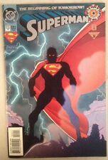 Zero Hour Superman 0 October Oct 1994 94 The Beginning Of Tomorrow DC comic