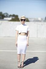 nasty gal After Party Vintage Penelope Crop Top new with tags Xsmall $48.00