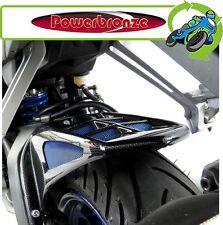 New Powerbronze Rear Hugger Carbon Look Blue Mesh Yamaha YZFR125 2008 to 2017