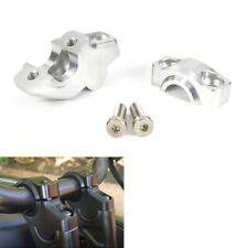 Offset Handlebar Riser Clamp Risers Bar Mount Fit For Honda CB700 CB750 CB1100