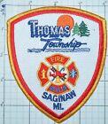 MICHIGAN, THOMAS TOWNSHIP SAGINAW FIRE DEPT RESCUE PATCH