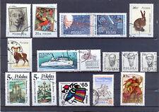 Polen Lot aus 2901 - 3117 gestempelt s. Scan
