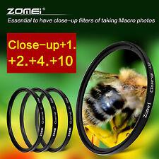 Zomei 77mm Macro Close Up +1+2+4+10 Lens Filter Kit For Canon Nikon Sony Fuji UK