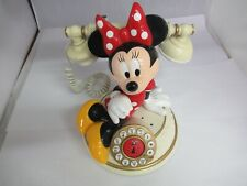 Telemania Walt Disney Minnie Mouse Desk Telephone, 743-P