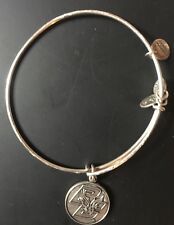 Boston College Expandable Bangle Bracelet Alex And Ani Silver Tone